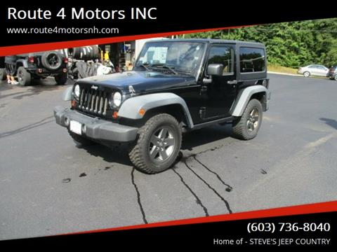 2011 Jeep Wrangler for sale in Epsom, NH