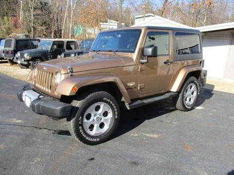 2015 Jeep Wrangler for sale in Epsom, NH
