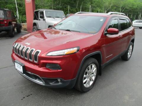 2014 Jeep Cherokee for sale at Route 4 Motors INC in Epsom NH