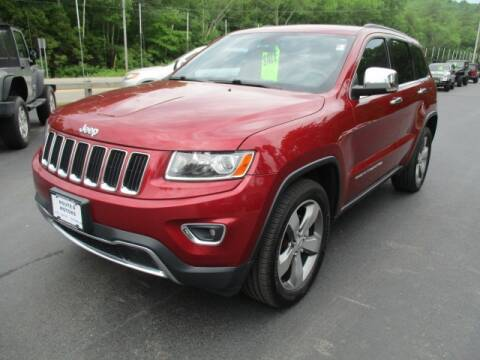 2014 Jeep Grand Cherokee for sale at Route 4 Motors INC in Epsom NH