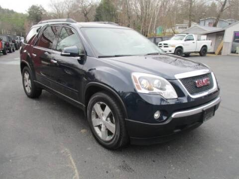 2012 GMC Acadia for sale at Route 4 Motors INC in Epsom NH