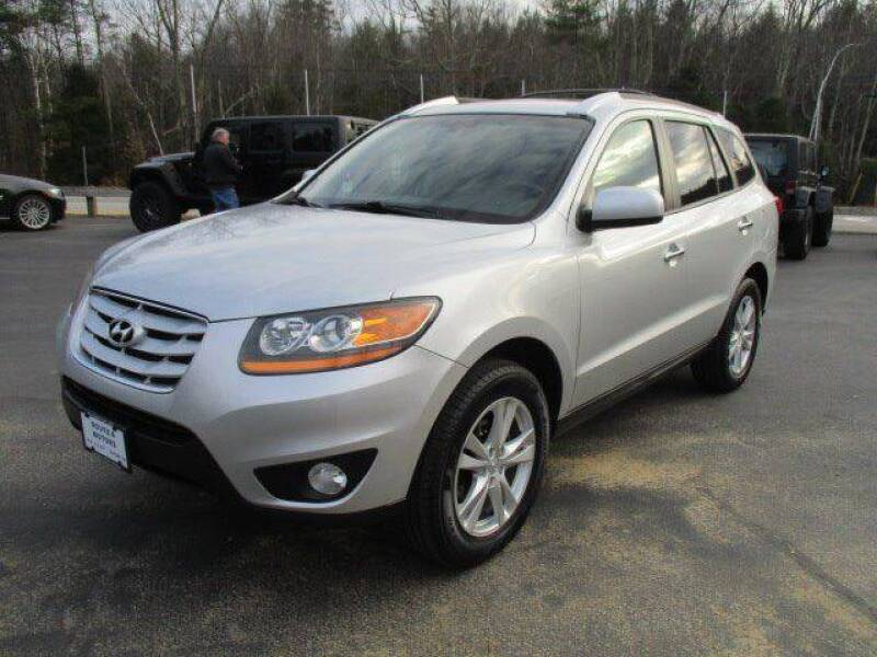 2011 Hyundai Santa Fe for sale at Route 4 Motors INC in Epsom NH
