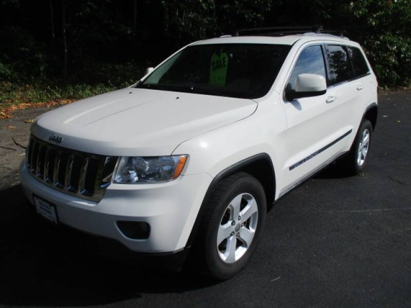 2012 Jeep Grand Cherokee for sale at Route 4 Motors INC in Epsom NH