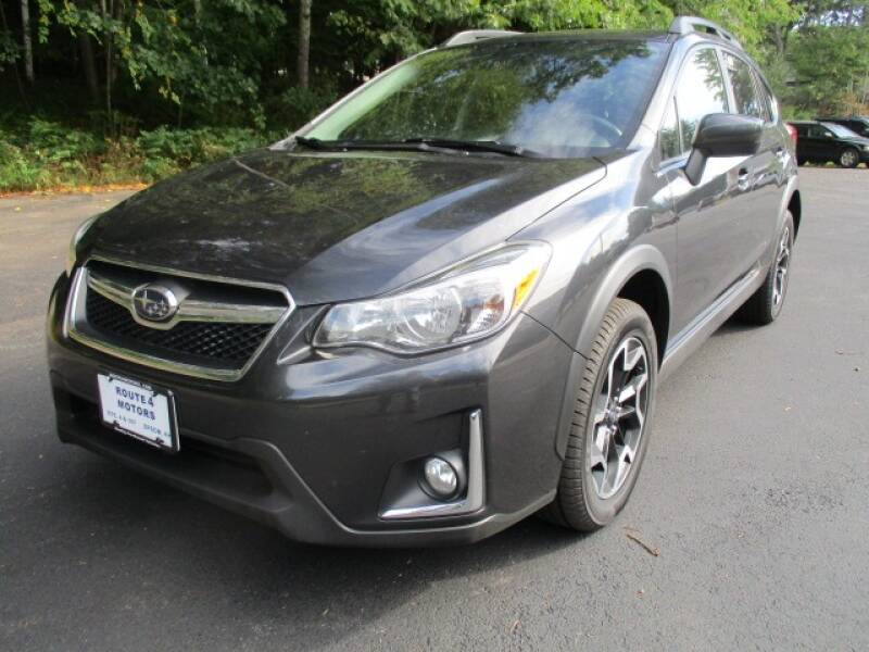 2016 Subaru Crosstrek for sale at Route 4 Motors INC in Epsom NH