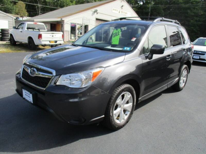 2015 Subaru Forester for sale at Route 4 Motors INC in Epsom NH