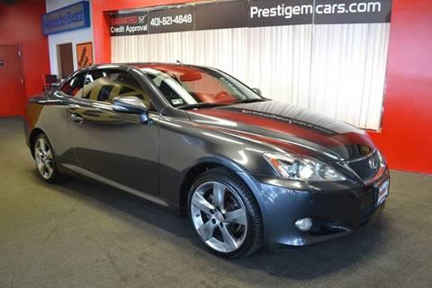 2010 Lexus IS 250C for sale in Warwick, RI