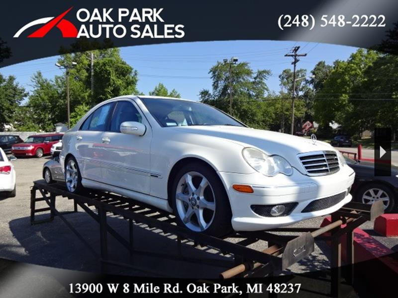 2007 Mercedes-Benz C-class car for sale in Detroit