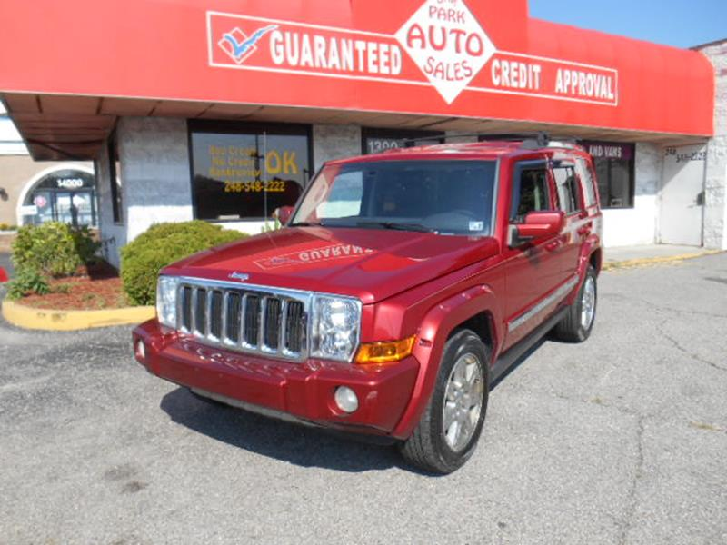 2010 Jeep Commander car for sale in Detroit