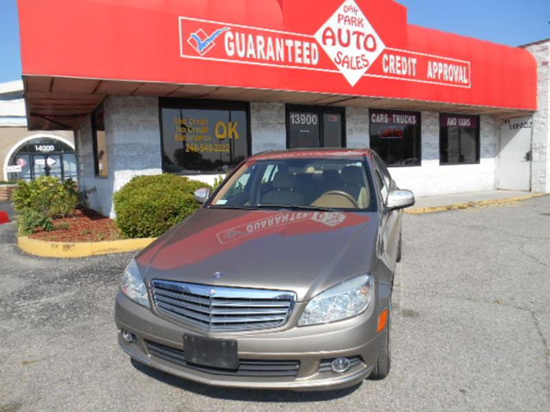 2008 Mercedes-Benz C-class car for sale in Detroit