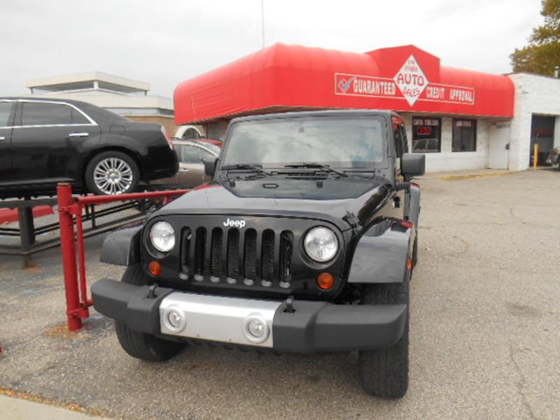 2010 Jeep Wrangler Unlimited car for sale in Detroit