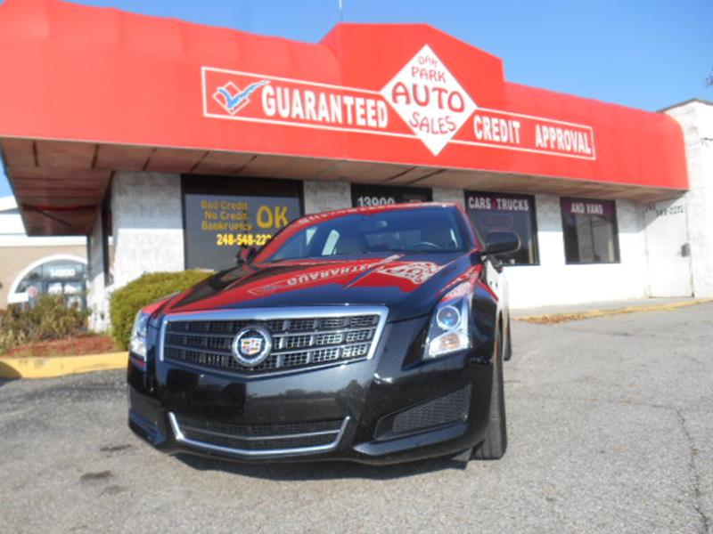 2014 Cadillac Ats car for sale in Detroit