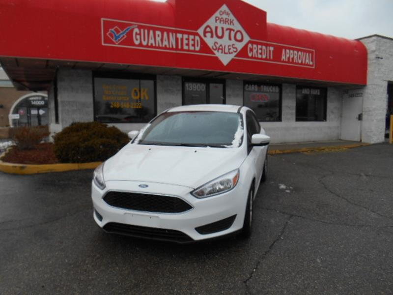 2016 Ford Focus car for sale in Detroit