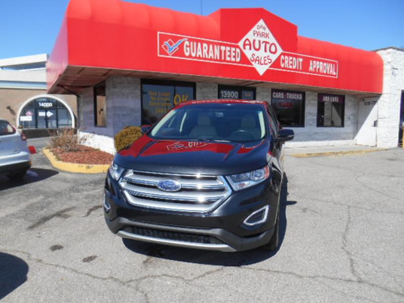 2015 Ford Edge car for sale in Detroit