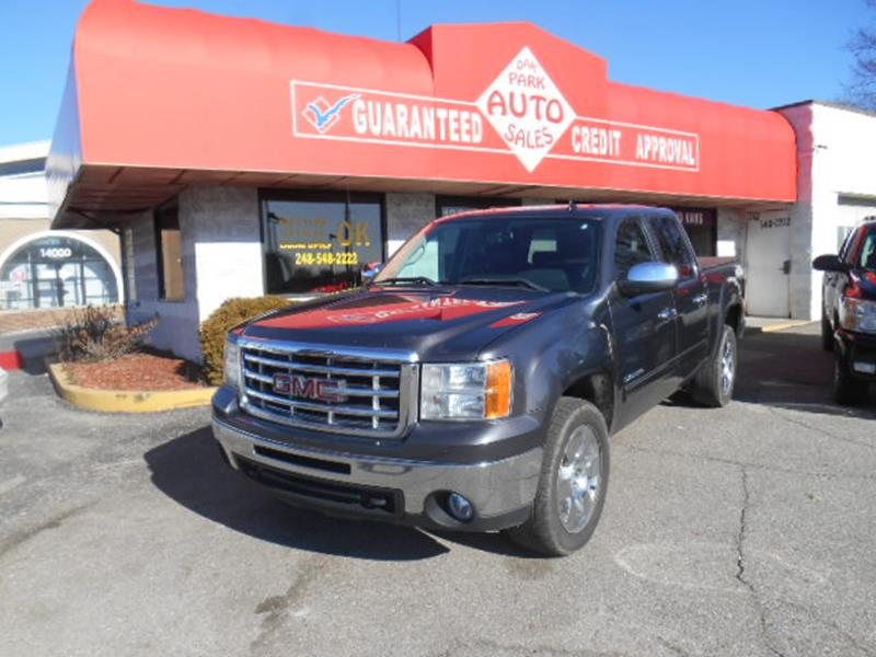 2010 Gmc Sierra 1500 car for sale in Detroit