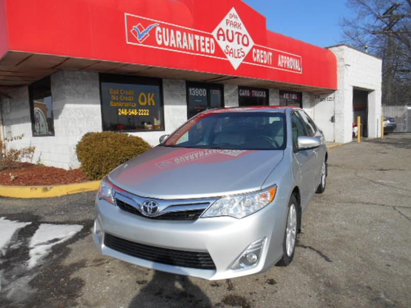 2012 Toyota Camry car for sale in Detroit