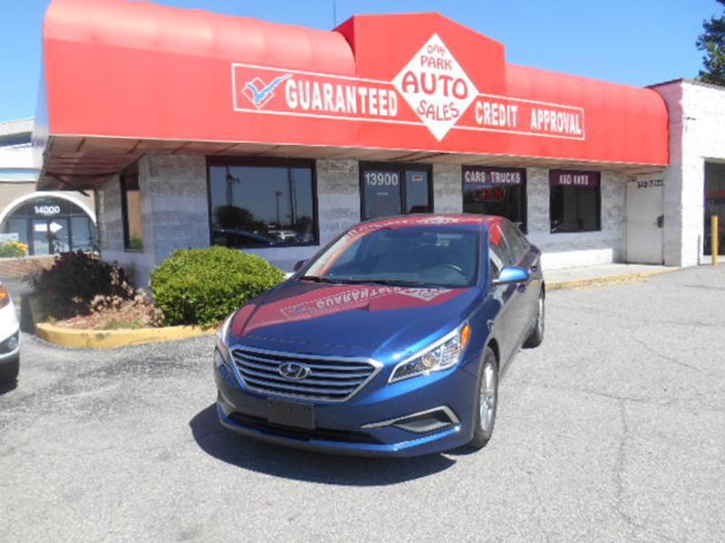 2017 Hyundai Sonata car for sale in Detroit