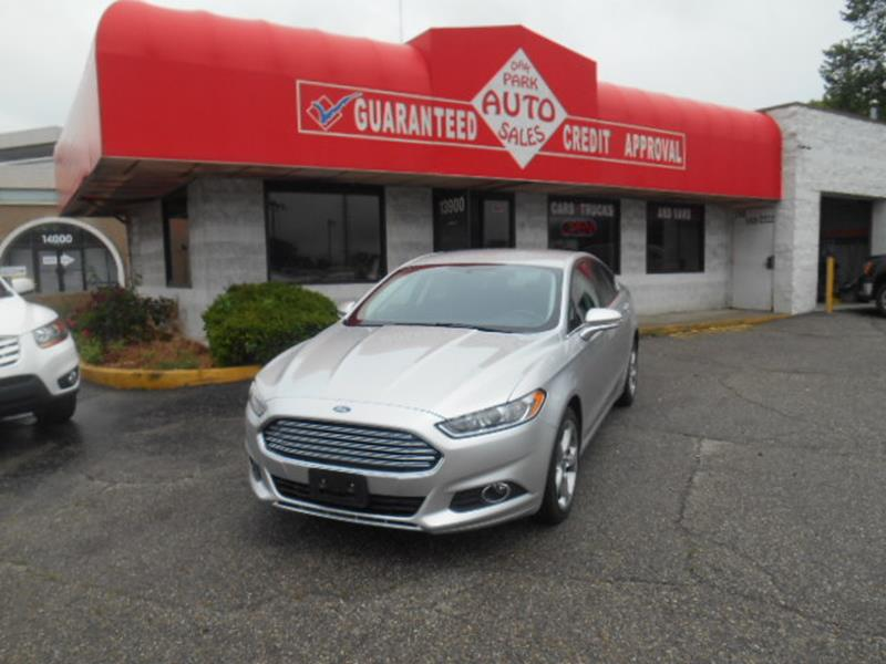2016 Ford Fusion car for sale in Detroit