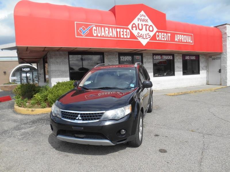 2009 Mitsubishi Outlander car for sale in Detroit