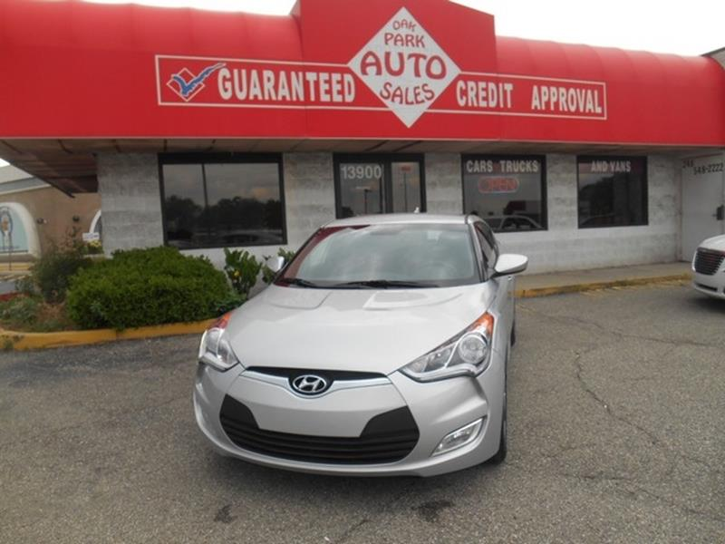 2017 Hyundai Veloster car for sale in Detroit