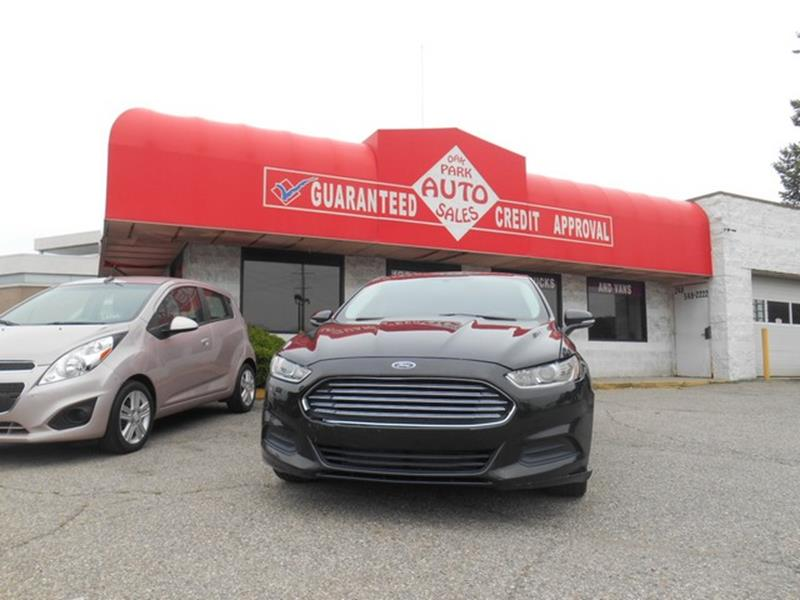 2013 Ford Fusion car for sale in Detroit
