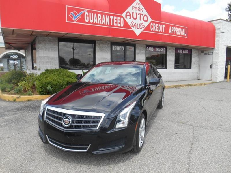 2013 Cadillac Ats car for sale in Detroit