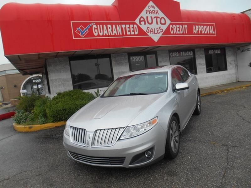 2009 Lincoln Mks car for sale in Detroit