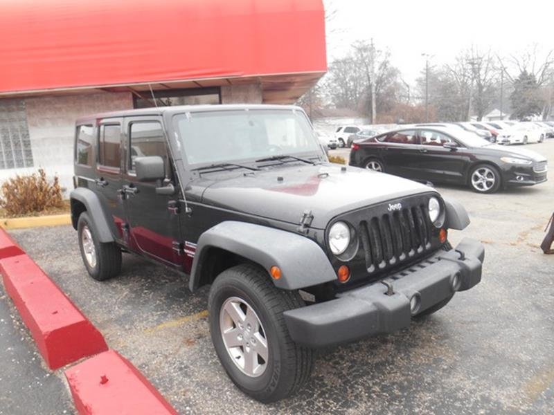 2011 Jeep Wrangler Unlimited car for sale in Detroit