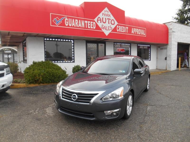 2013 Nissan Altima car for sale in Detroit