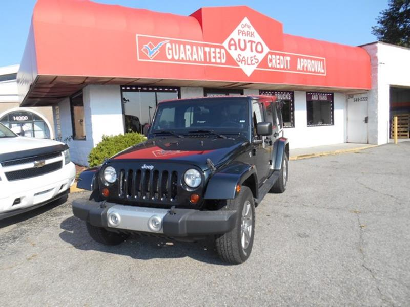 2012 Jeep Wrangler Unlimited car for sale in Detroit