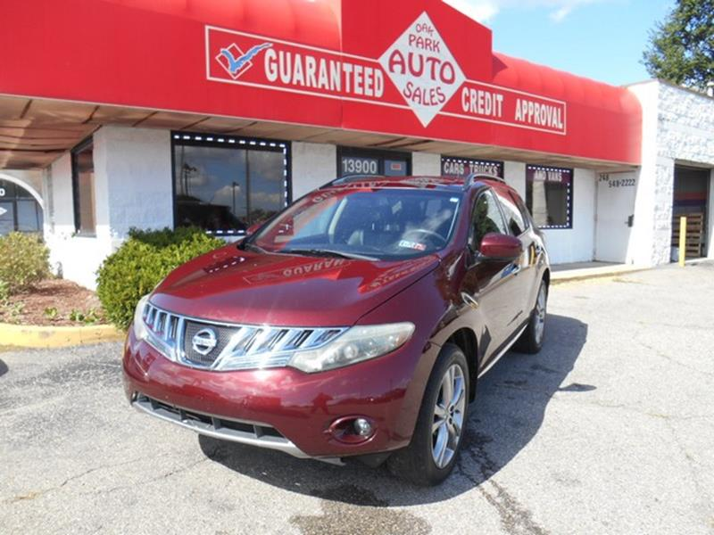 2010 Nissan Murano car for sale in Detroit