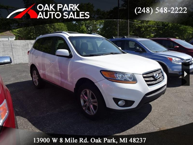 2011 Hyundai Santa Fe car for sale in Detroit