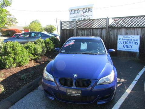 2007 BMW M5 for sale in Hyannis, MA