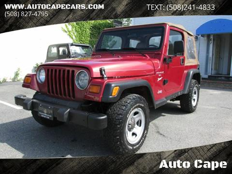 1998 Jeep Wrangler for sale in Hyannis, MA