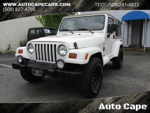 1999 Jeep Wrangler for sale in Hyannis, MA