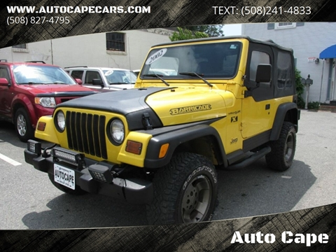 2002 Jeep Wrangler for sale in Hyannis, MA