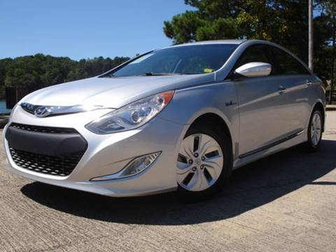 2013 Hyundai Sonata Hybrid for sale in Oakwood, GA