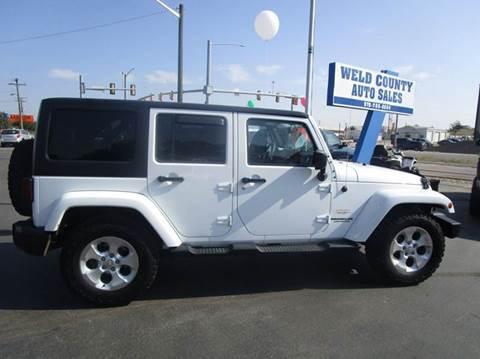 2013 Jeep Wrangler Unlimited for sale in Platteville, CO