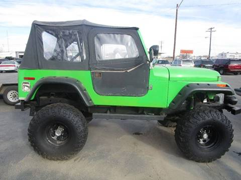1983 Jeep CJ-7 for sale in Platteville, CO