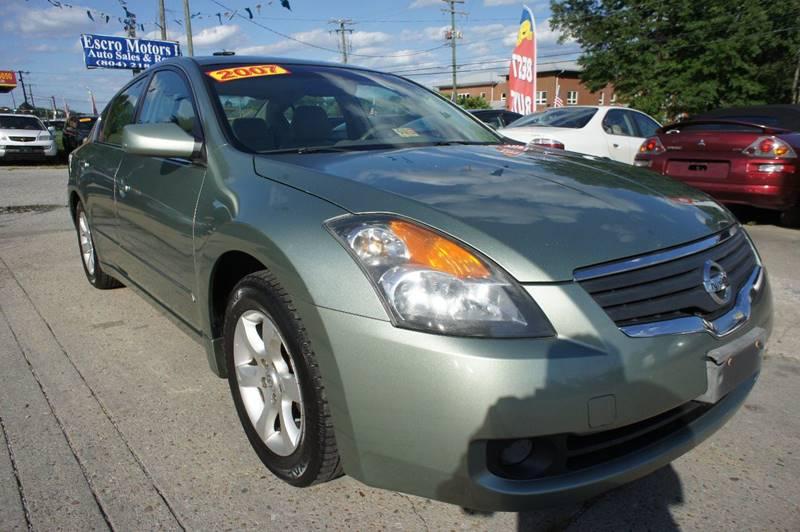 2007 Nissan Altima 2.5 4dr Sedan - Richmond VA
