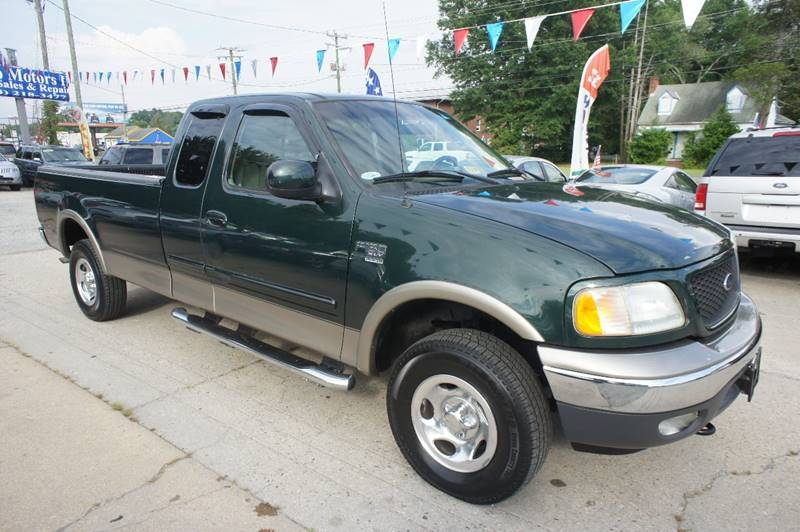 2002 Ford F-150 4dr SuperCab Lariat 4WD Styleside LB - Richmond VA