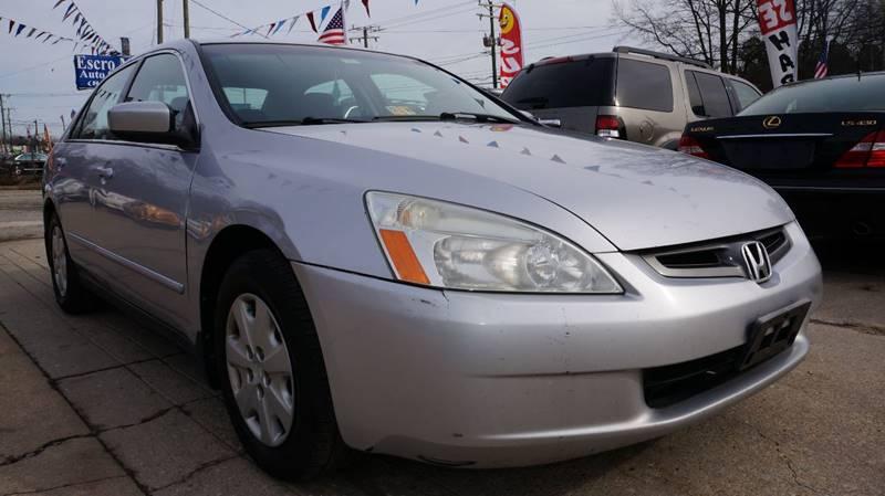 2003 Honda Accord LX 4dr Sedan   Richmond VA