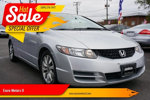 2010 Honda Civic for sale in Richmond, VA