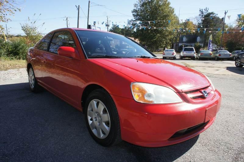 2002 Honda Civic EX 2dr Coupe w/Side Airbags - Richmond VA