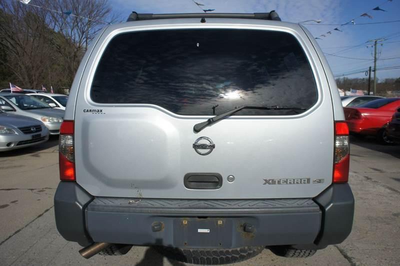 2003 Nissan Xterra Xe V6 4wd 4dr Suv V6 In Richmond Va Escro Motors Ii