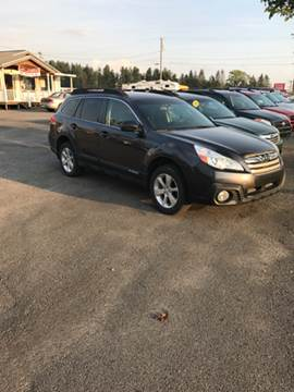 2013 Subaru Outback for sale at HEWITT PRE-OWNED INC in Craigsville WV