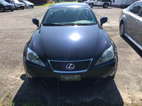 2008 Lexus IS 250 for sale at HEWITT PRE-OWNED INC in Craigsville WV