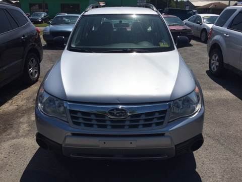 2012 Subaru Forester for sale at HEWITT PRE-OWNED INC in Craigsville WV