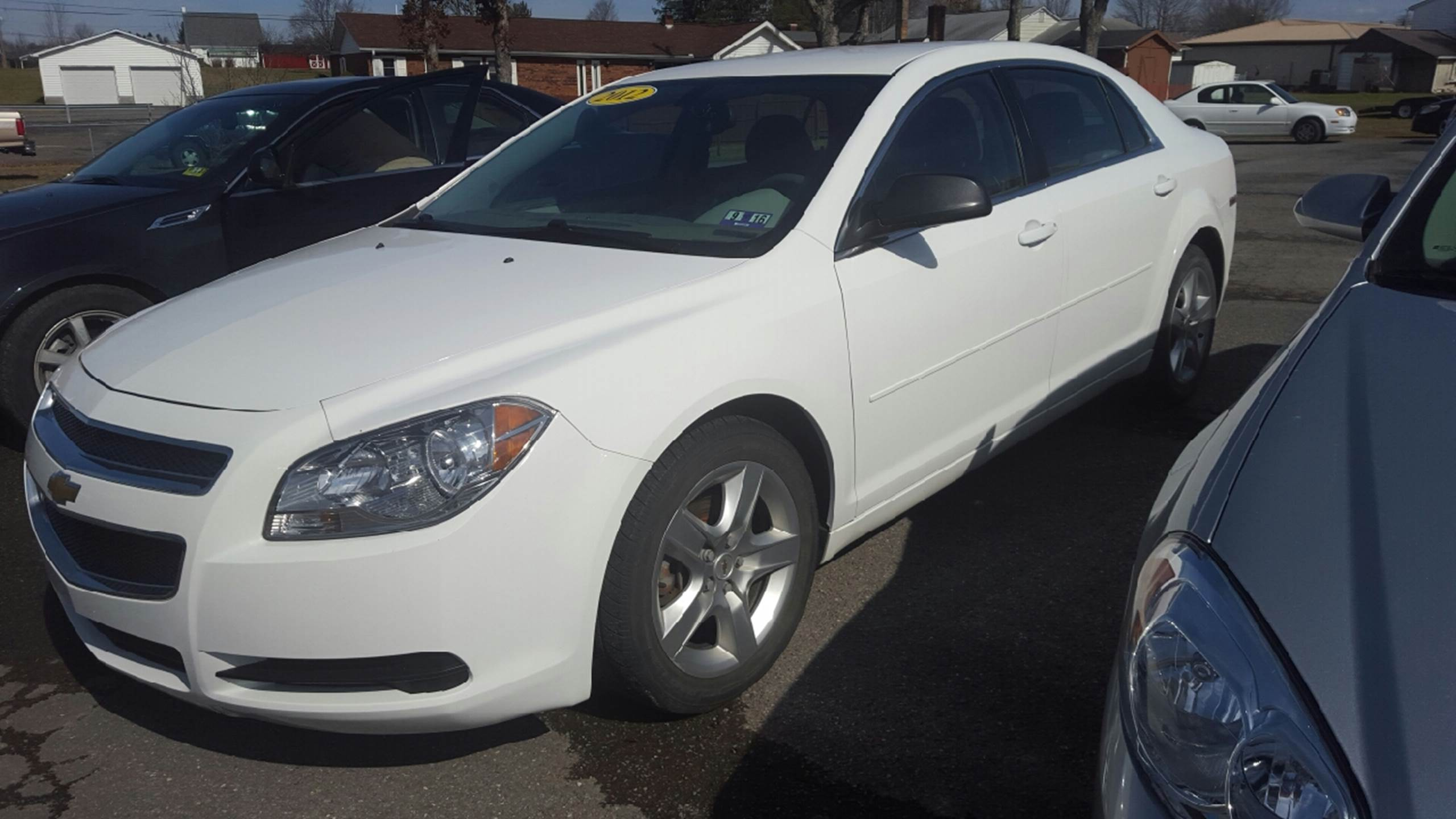 2012 Chevrolet Malibu for sale at HEWITT PRE-OWNED INC in Craigsville WV