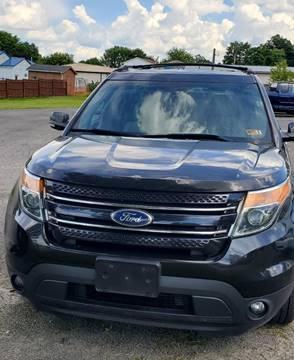 2014 Ford Explorer for sale in Craigsville, WV