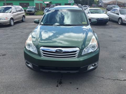 2010 Subaru Outback for sale at HEWITT PRE-OWNED INC in Craigsville WV